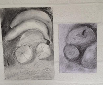 Tony's charcoal drawings